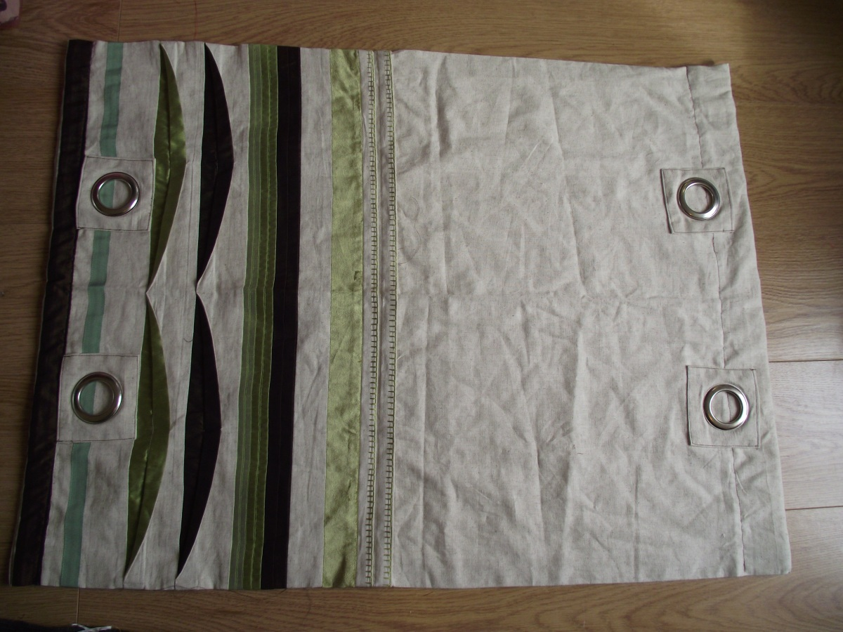 Sew the strap holders to the top sides of the bag when folded