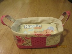 Baby wipes basket