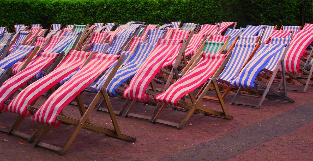 Deckchairs in London
