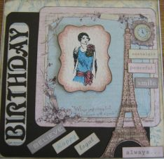 Birthday card for Pippa