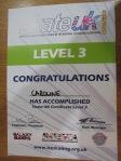 Passed! Level 3