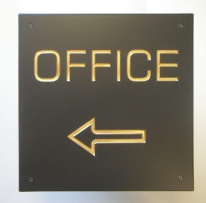 Your office-This way. Keep walking.
