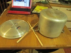 My practice drum set