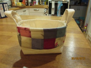 Cotton wool/bath bomb mini basket