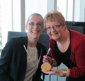 Me, Sophie and the London 2012  gold medal