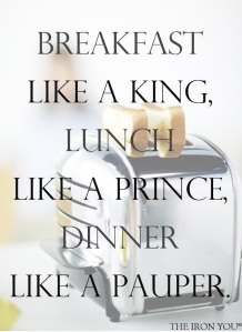 Breakfast Like A King copy