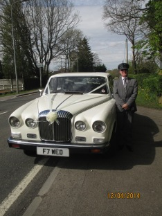 The real wedding car