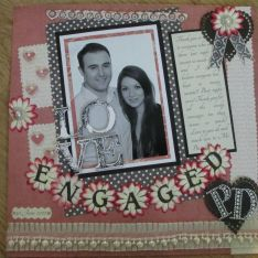 30 June 2012-surprise engagement party for Pippa