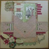 Invitation in envelope