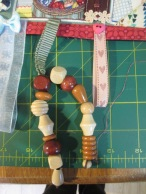 Fiddle beads-different shapes and sizes