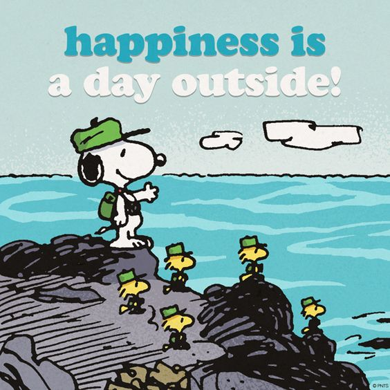 happiness outside