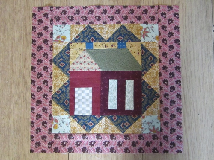 Mystery quilt Block 1